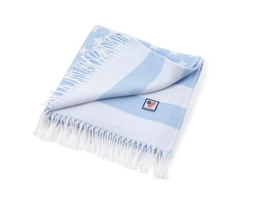 Torkkupeitto Authentic Baby Flag Blue
