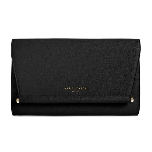 Laukku Ava Clutch Black
